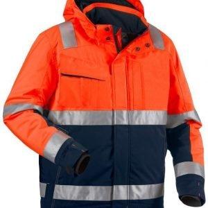 Blåkläder Highvis talvitakki Oranssi/Mariininsininen