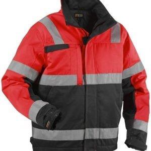 Blåkläder Highvis talvitakki Punainen/Musta