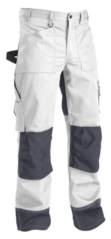 Blåkläder Housut Valkoinen/Harmaa