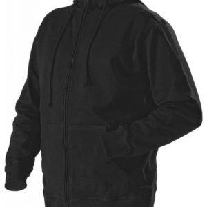 Blåkläder Huppari vetoketjulla Musta