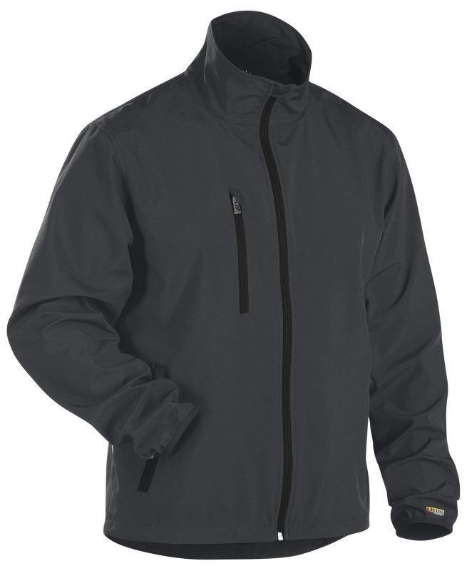 Blåkläder Kevyt Softshelltakki Tummanharmaa/Musta