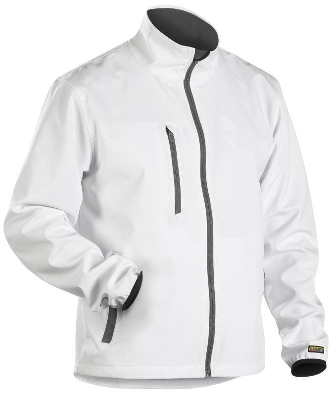Blåkläder Kevyt Softshelltakki Valkoinen/Harmaa