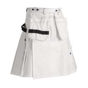 Blåkläder Kiltti Valkoinen
