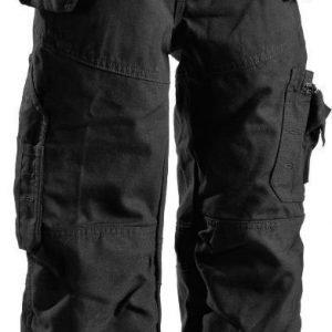 Blåkläder Lasten X1500 riipputaskuhousut Musta