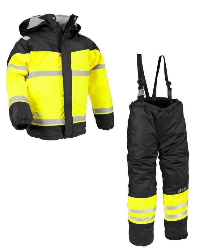 Blåkläder Lasten sadeasu Musta/Keltainen