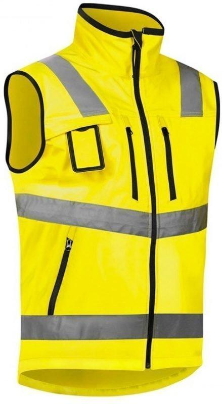 Blåkläder Liivi Highvis softshell keltainen