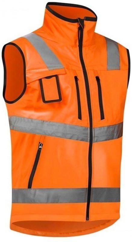 Blåkläder Liivi Highvis softshell oranssi