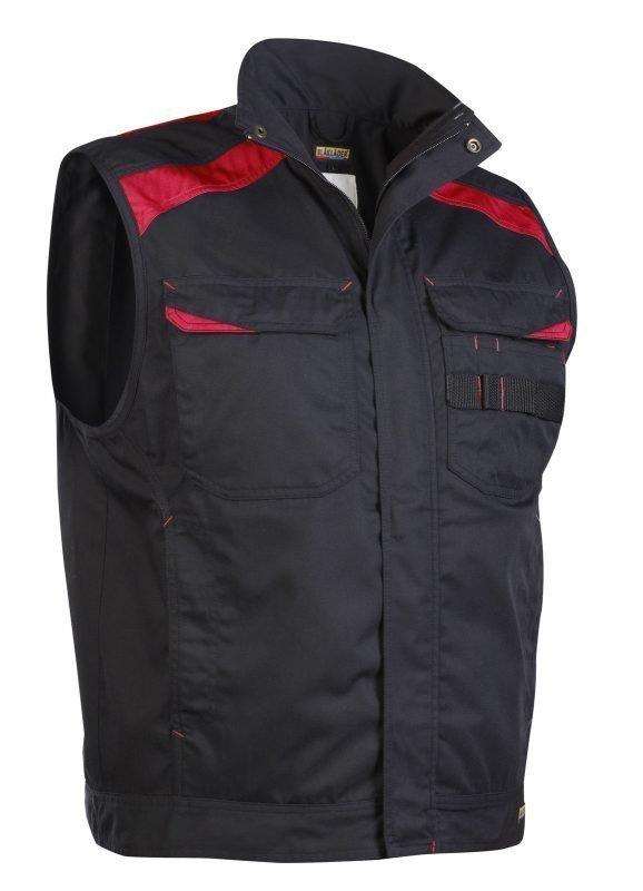 Blåkläder Liivi Musta/Punainen