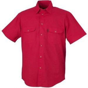 Blåkläder Lyhythihainen kauluspaita Punainen