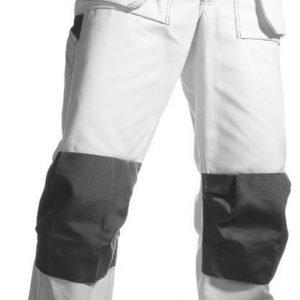 Blåkläder Maalarin riipputaskuhousut Valkoinen