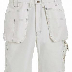 Blåkläder Maalarin riipputaskushortsit Valkoinen