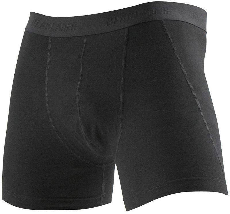 Blåkläder Miesten boxerit (2-pack) Musta