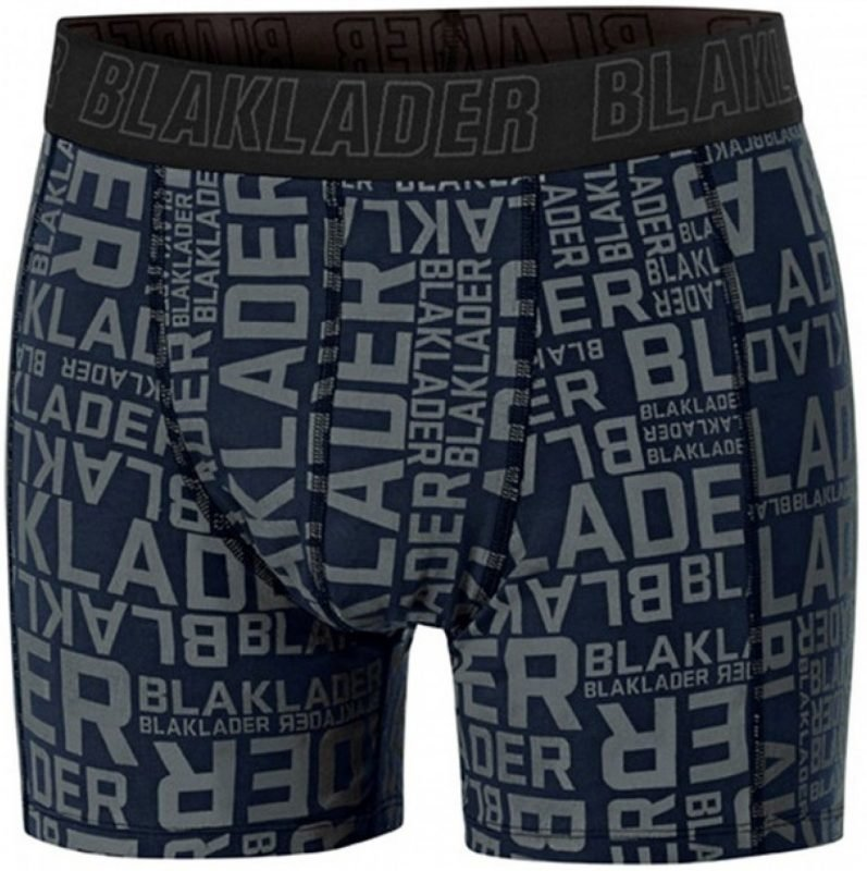 Blåkläder Miesten boxerit (2-pack) mariininsininen/steel blue