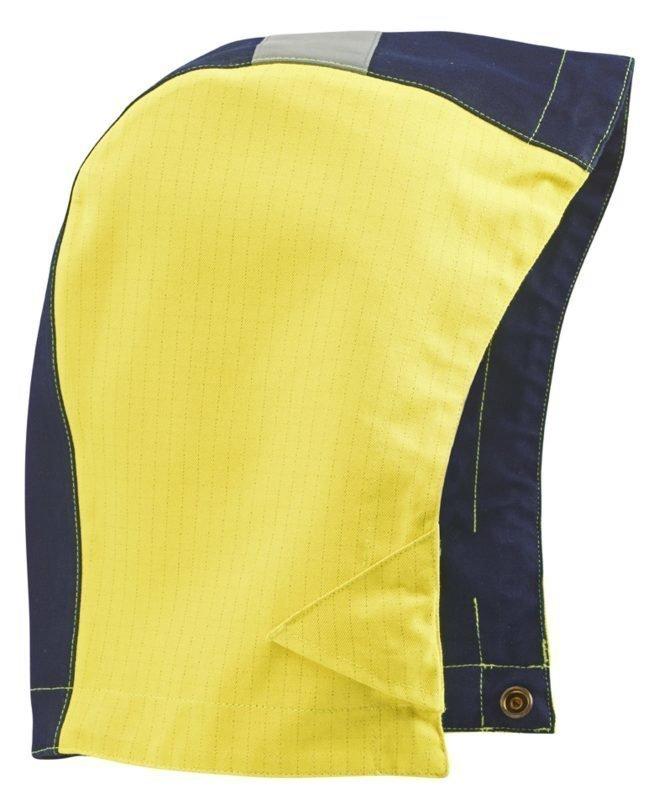 Blåkläder Multinorm huppu Keltainen/Mariininsininen