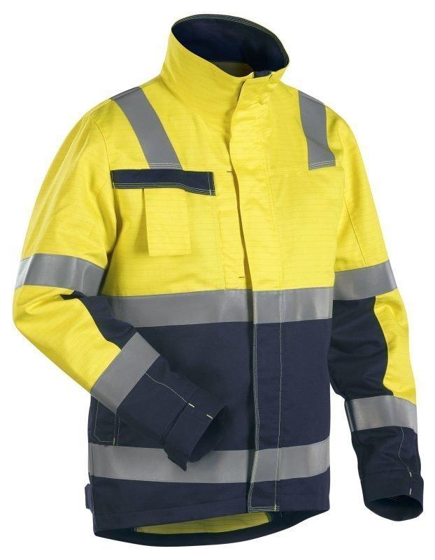 Blåkläder Multinorm takki Keltainen/Mariininsininen