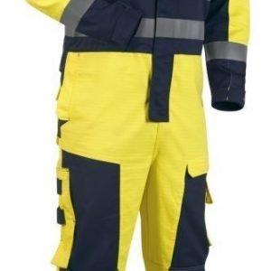 Blåkläder Multinorm talvihaalari Keltainen/Mariininsininen