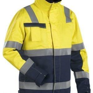 Blåkläder Multinorm talvitakki Keltainen/Mariininsininen