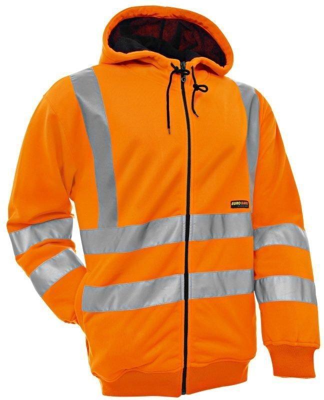 Blåkläder Naisten Highvis huppari Oranssi