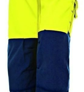 Blåkläder Naisten Highvis riipputaskuhousut Keltainen/Mariininsininen