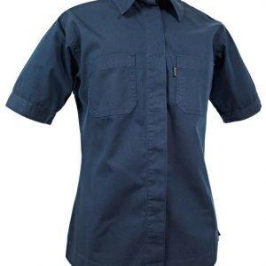 Blåkläder Naisten lyhythihainen Canvas paita Mariininsininen