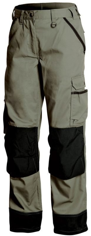 Blåkläder Naisten puutarhurin housut Army green/Musta