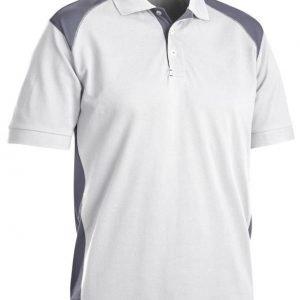 Blåkläder Piképaita Valkoinen/Harmaa
