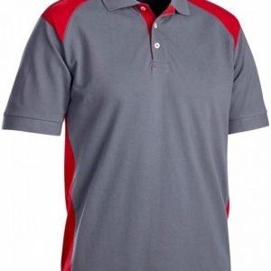 Blåkläder Piképaita musta/punainen