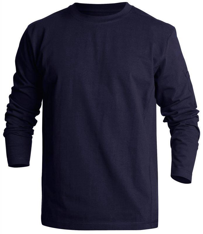 Blåkläder Pitkähihainen T-paita Mariininsininen