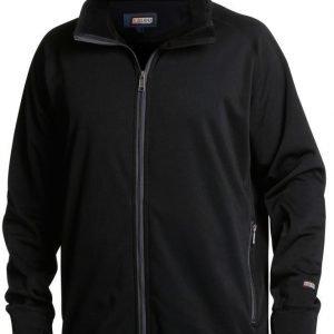 Blåkläder Polyesteri-fleecepusero Musta