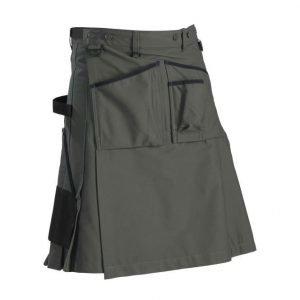 Blåkläder Puutarhurin kiltti Army green/Musta
