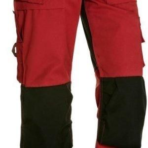 Blåkläder Riipputaskuhousut Punainen/Musta