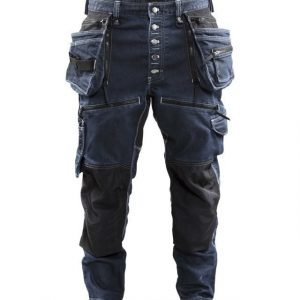 Blåkläder Riipputaskuhousut Stretch Mariininsininen/Musta