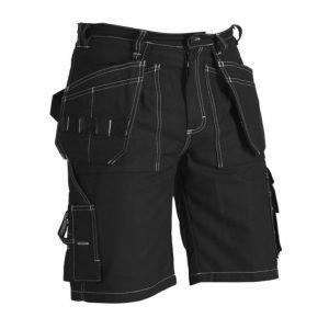 Blåkläder Riipputaskushortsit Musta