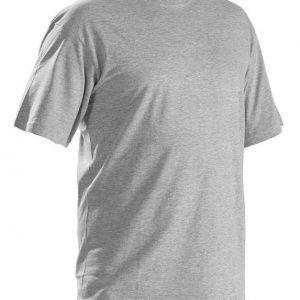 Blåkläder T-Paita (5-pack) Meleerattu harmaa