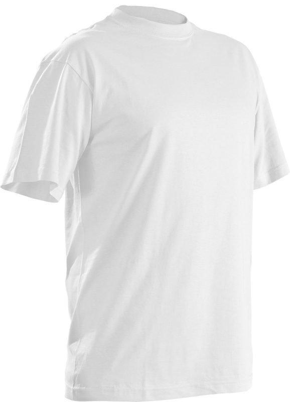 Blåkläder T-Paita (5-pack) Valkoinen