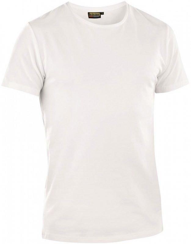 Blåkläder T-paita 2-pack valkoinen