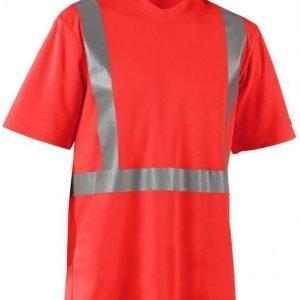 Blåkläder T-paita Highvis UV-suojattu punainen