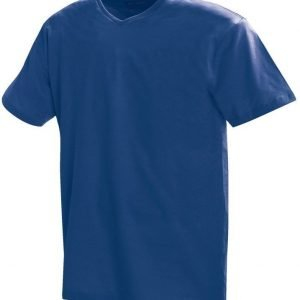 Blåkläder T-paita V-kaulus Mariininsininen
