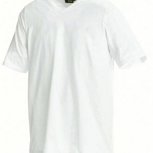 Blåkläder T-paita V-kaulus Valkoinen