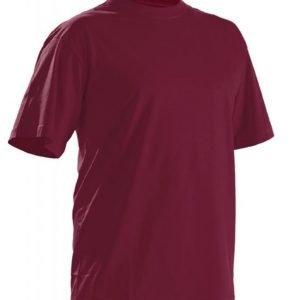 Blåkläder T-paita Viininpunainen