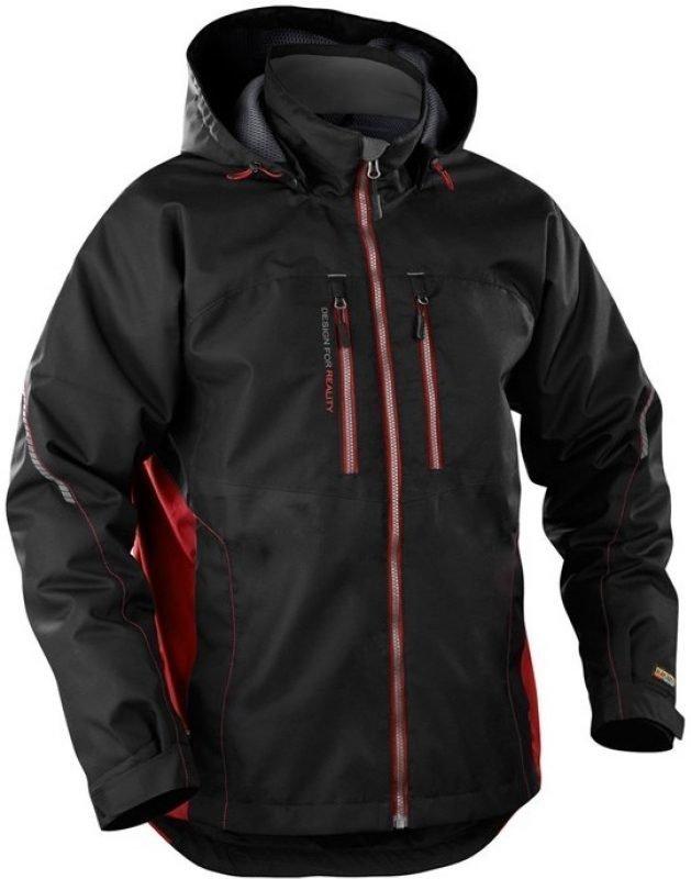 Blåkläder Takki Functional musta/punainen