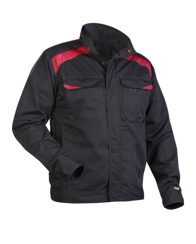 Blåkläder Takki Musta/Punainen