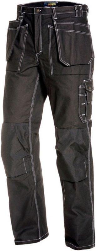 Blåkläder Talvihousut 1515 riipputaskuilla musta