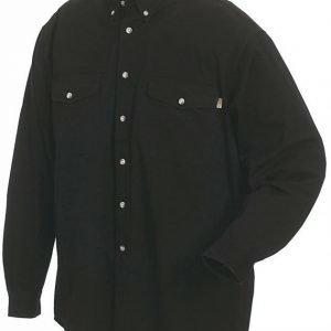Blåkläder Twill kauluspaita Musta