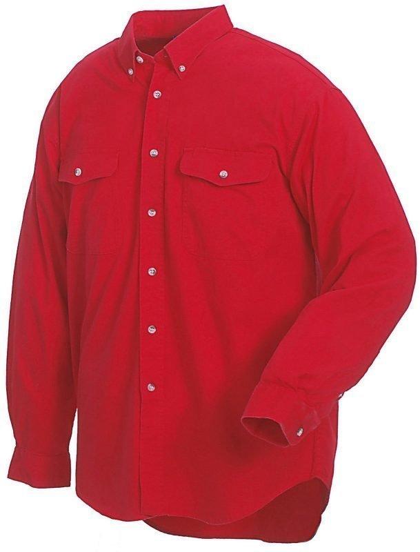 Blåkläder Twill kauluspaita Punainen
