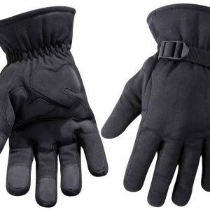 Blåkläder Työkäsine vuorellinen Musta 6 paria