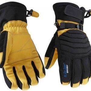 Blåkläder Työkäsine vuorellinen Musta/Keltainen 6 paria