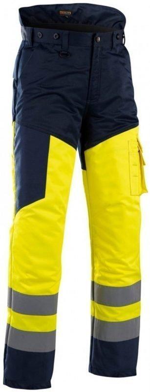 Blåkläder Viiltosuojahousut Highvis keltainen/mariininsininen