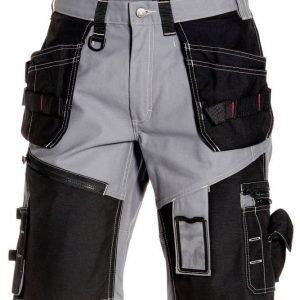 Blåkläder X1500 shortsit Harmaa/Musta