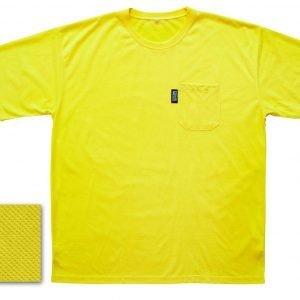 Bockmann Tekninen T-Paita Keltainen